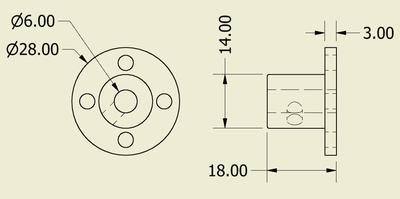 Bağlantı Aparatı 6mm Delikli (2 Adet)