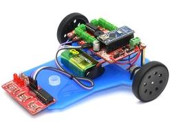 Jsumo - Çizgi İzleyen Robot Kiti - Çigor (Demonte Montajsız)