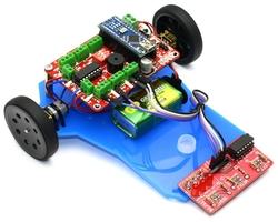 Jsumo - Çizgi İzleyen Robot Kiti - Çigor (Montajlı)