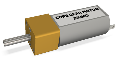 Core Dc Motor 6V 300Rpm