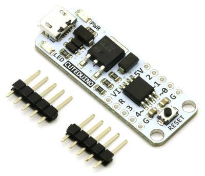 Cuteduino Micro Denetleyici Arduino Kartı