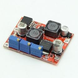 - DC-DC Ayarlanabilir Voltaj Yükseltici-Düşürücü Regülatör Kartı - LM2577 + LM2596
