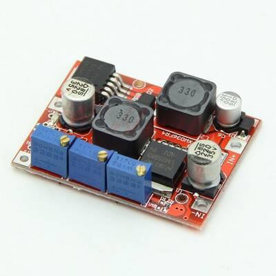 DC-DC Ayarlanabilir Voltaj Yükseltici-Düşürücü Regülatör Kartı - LM2577 + LM2596