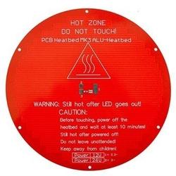 - Delta 3D Printer Heat Bed ( Isıtmalı Metal Tabla )