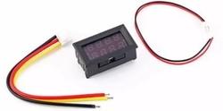 Dijital Panel Voltmetre AC 30-500 V - Thumbnail