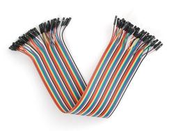 - Dişi-Dişi Jumper Kablo Seti 20 cm | 40 Adet