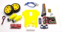 DuoBot Çizgi İzleyen ve Engelden Kaçan Robot (Demonte Montajsız) - Thumbnail