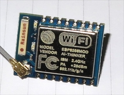 - ESP8266-07 Wifi Serial Transceiver Modül