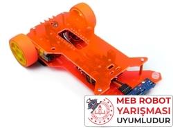 Jsumo - Flash Çizgi İzleyen Robot Kiti - MEB Temel Seviye Uyumlu (Demonte Montajsız)