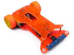 Jsumo - Flash Çizgi İzleyen Robot Kiti - MEB Temel Seviye Uyumlu (Montajlı))