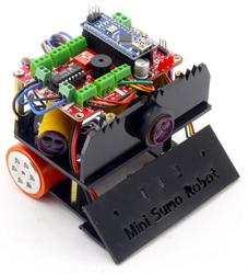 Jsumo - FROG Mini Sumo Robot Kiti (Montajlı)