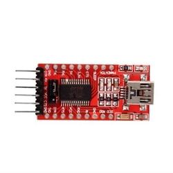 - FT23RLl FTDI USB - Seri Dönüştürücü Kartı 3.3V - 5V Seçilebilir