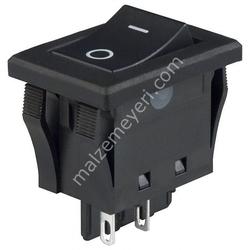 - Geniş Işıksız Anahtar 6P ( ON - OFF)