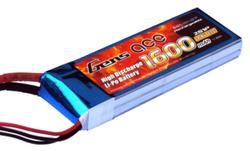 - Gens ACE 1600mAh 7.4V 40C 2S1P LiPo Batarya