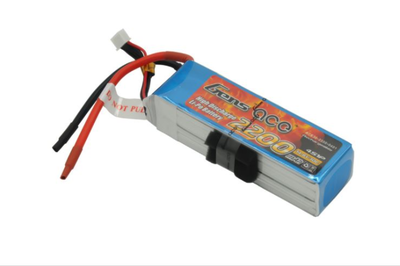 Gens Ace 2200mAh 14.8V 30C 4S LiPo Batarya | Lipo Pil