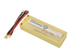 - Gens Ace 7000mAh 50C 2S1P 7.4v Hard Case Lipo Pil