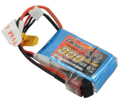 Gens ACE 800mAh 7.4V 40C 2S LiPo Batarya | Lipo Pil