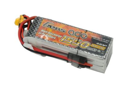 Gens Ace1550mAh 14.8V 25C 4S LiPo Batarya | Lipo Pil