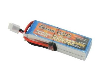 GensAce 3800mAh 14.8V 25C 4S LiPo Batarya   Lipo Pil