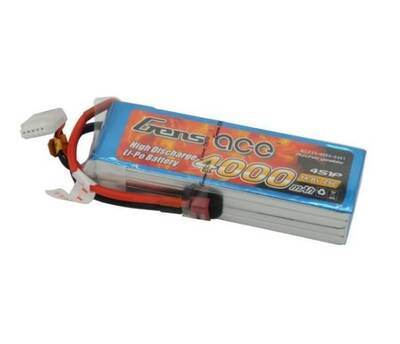 GensAce 4000mAh 14.8V 25C 4S LiPo Batarya | Lipo Pil