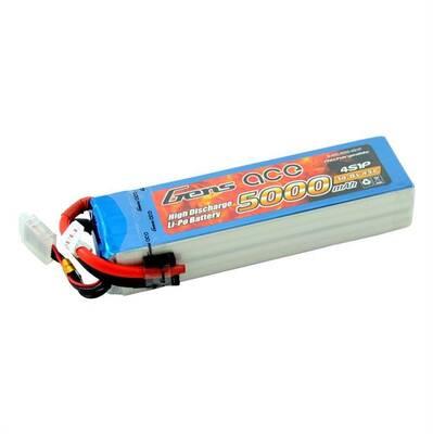 GensAce 5000mAh 14.8V 45C 4S LiPo Batarya | Lipo Pil