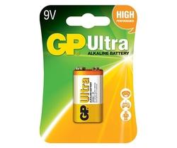 - GP 9V Ultra Alkalin Pil