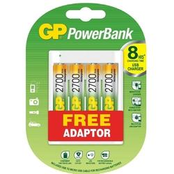 - GP U411 4 Adet 2700 AA Pilli USB Şarj Cihazı