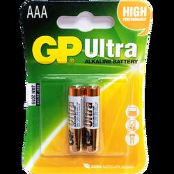 - GP Ultra 1.5V AAA İnce Kalem Pil - 2'li