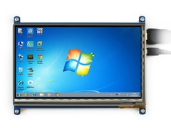 - HDMI Kapasitif Dokunmatik LCD Ekran 7'' - 800x480