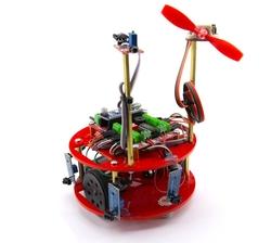 Jsumo - HERA Yangın Söndüren Robot Kiti (Demonte Montajsız)