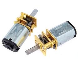 - High Torque 6V 180RPM Mikro Redüktörlü Dc Motor | Mini Sumo Robot Motoru