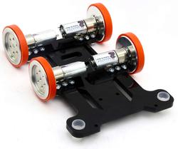 - Hızlı Çizgi İzleyen (Maraton) Robot Gövdesi - Siyah