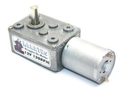 - Kingpin 12V 120 Rpm Redüktörlü Dc Motor