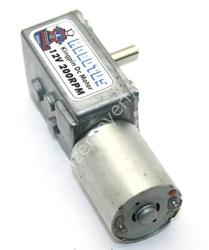 - Kingpin 12V 200 Rpm Redüktörlü Dc Motor