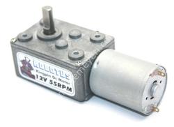 - Kingpin 12V 55 Rpm Redüktörlü Dc Motor