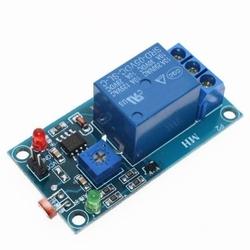 - LDR Işık Sensörü Kontrollü Tekli Röle Kartı