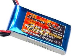 - Lipo Batarya 25C 11.1V 450mAh (3S) Lipo Pil