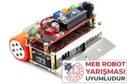 Jsumo - M1 Arduino Mini Sumo Robot Kiti - Genesis (Montajlı)
