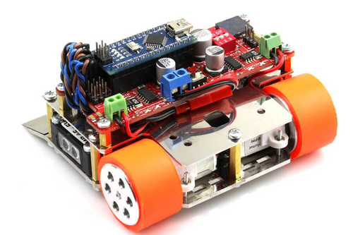 M1 Arduino Mini Sumo Robot Kiti - Genesis (Montajlı)