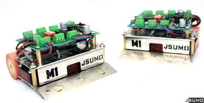 M1 Mini Sumo Robot Gövdesi + Katana Mini Sumo Bıçağı Hediyeli