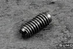 M8x18mm Yuvarlak Uçlu Vidalı Yay Takımı - Thumbnail