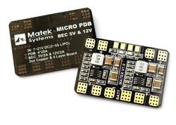 - Mateks Micro PDB w/ Bec 5V & 12V
