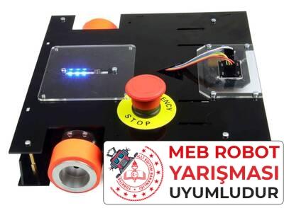 MEB Caretta Robot Kiti - Caretta Yumurta Toplama Robotu Pleksiglass Gövde (Demonte)
