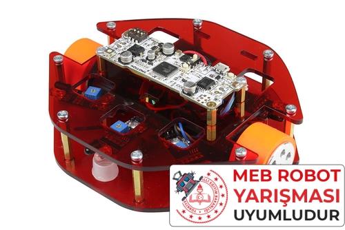 MEB Labirent Çözen Robot Kiti - Montajlı