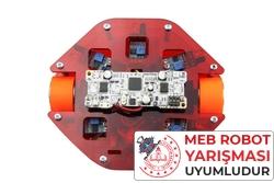 MEB Labirent Çözen Robot Kiti - Montajlı - Thumbnail
