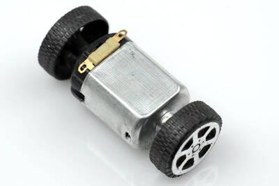 Mini Plastik Tekerlek Seti - 2 Adet