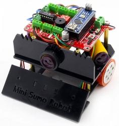 Mini Sumo Robot Gövdesi SİYAH - Thumbnail