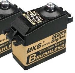 - MKS BLS 990 Titanyum Dişli Servo Motor