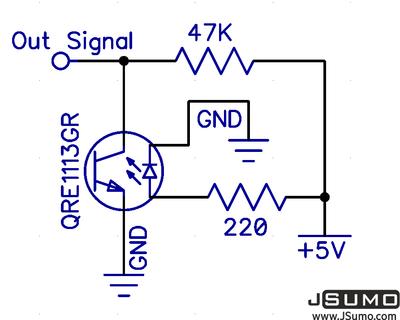 ML1 Kızılötesi Çizgi Sensörü - 2 Adet