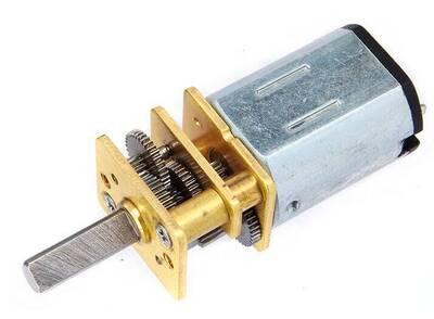 MP 6V 630RPM Mikro Redüktörlü Dc Motor | Mini Sumo Robot Motoru